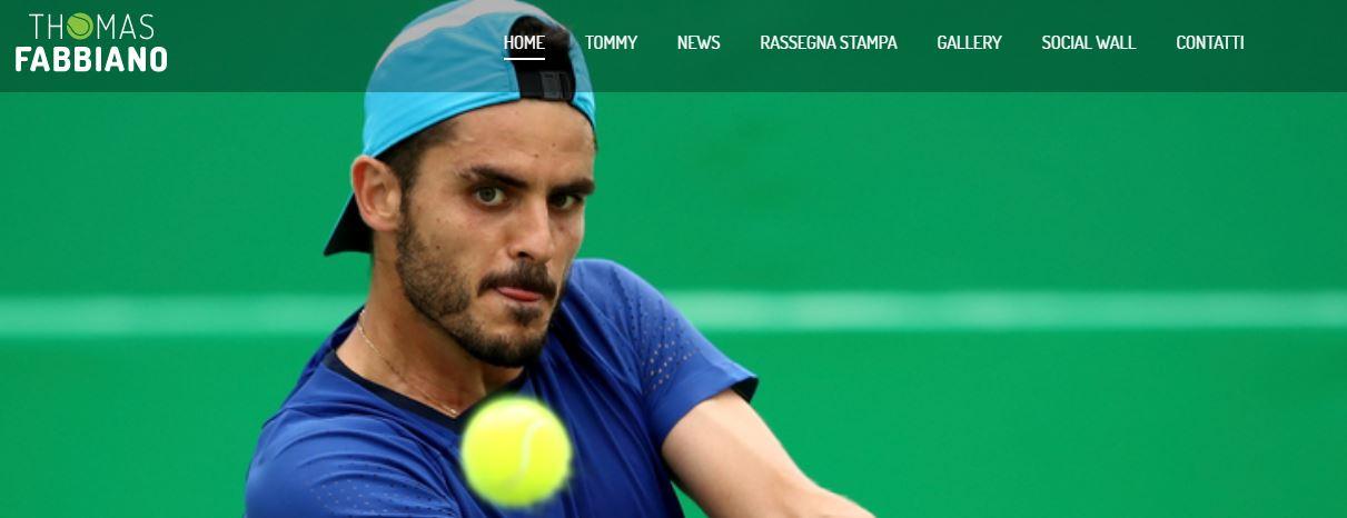 Sport Communication presenta il nuovo sito di Thomas Fabbiano
